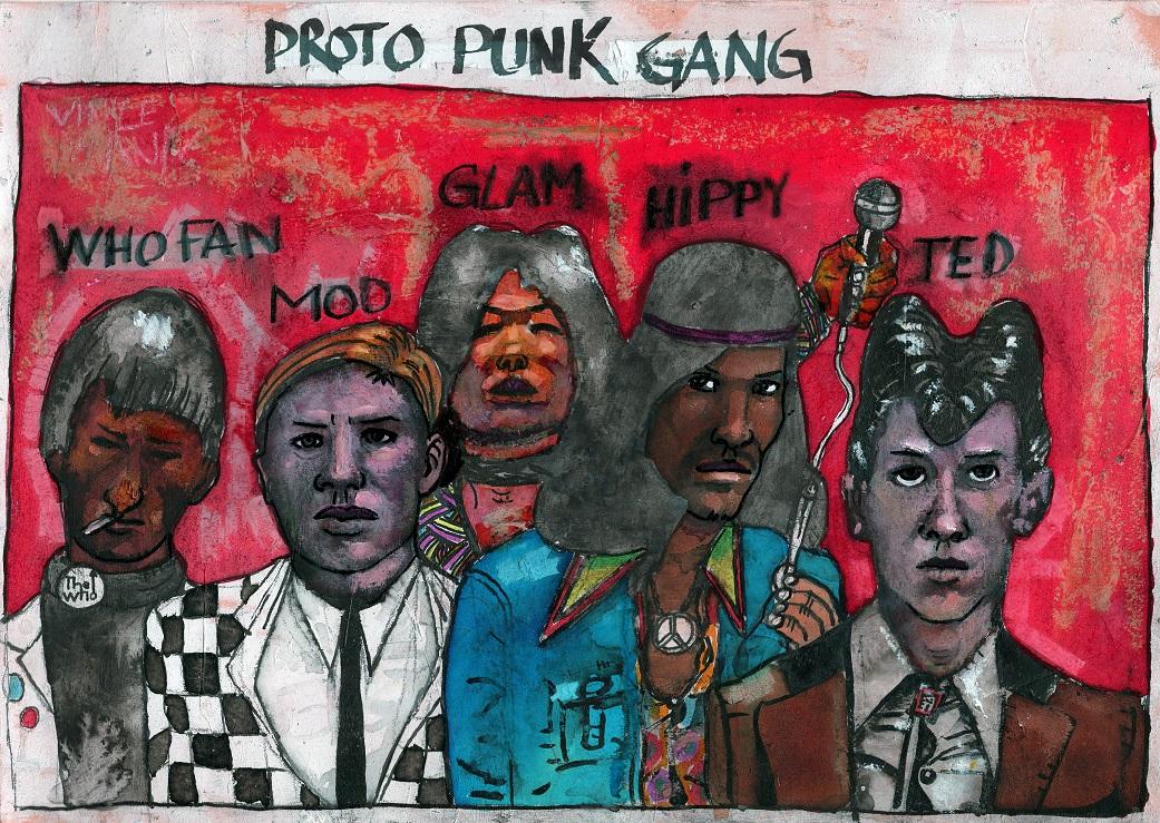 Punk Gang - 21x29 - 200€