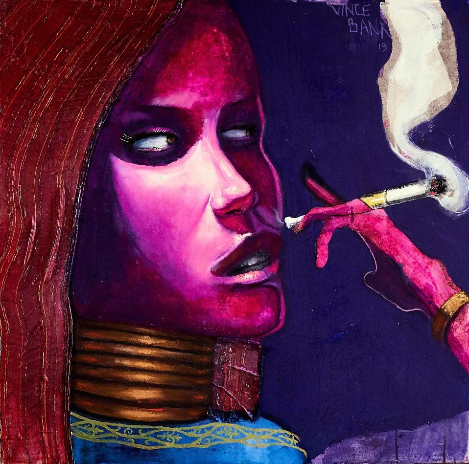 Smokeuse - 100x100 cm - 800€
